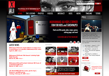 The Official Muhammad Ali Website