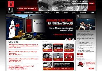 The Official Muhammad Ali Website