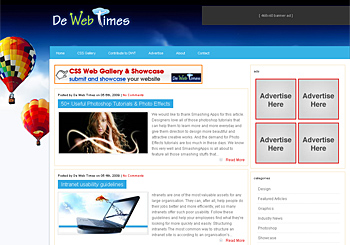 De Web Times – Share Your Resources