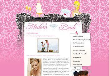 Modern Bride Wedding Planner
