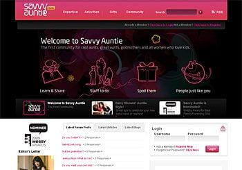 SavvyAuntie.com