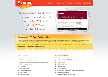 89Bytes xHTML Development
