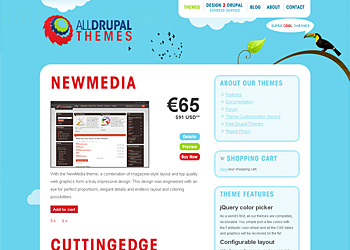 All Drupal Themes