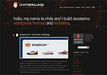 Chris Wallace's Portfolio & Blog