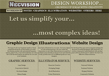 Necvision Design Workshop