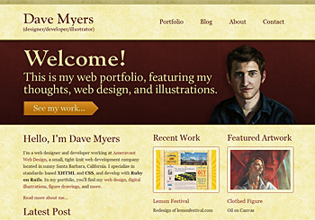 Web Portfolio of Dave Myers