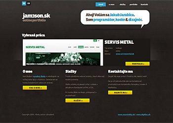 jam3son.sk online portfolio