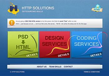 HTTP Solutions – Outsourcing Skills