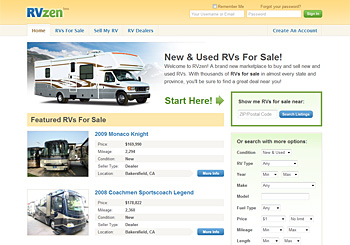 RVzen RVs For Sale