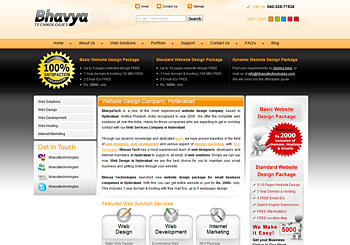 Website Design Hyderabad India