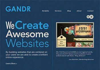 GANDR Web