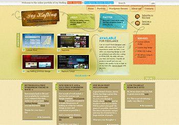Jay Hafling: Web-design