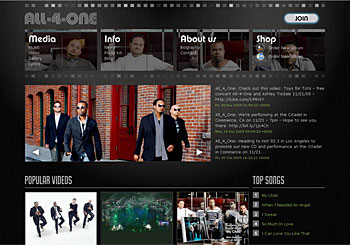 All-4-One Official Website