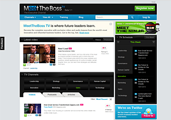 Business TV – MeetTheBoss.TV