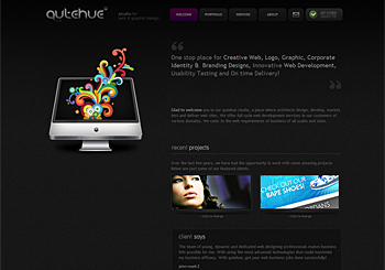 qutehue | Studio for web & graphic design