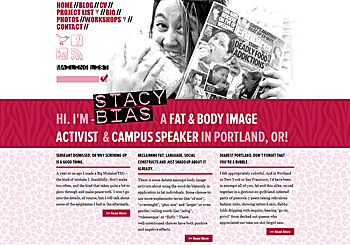 Stacy Bias – body image activist & campus speaker