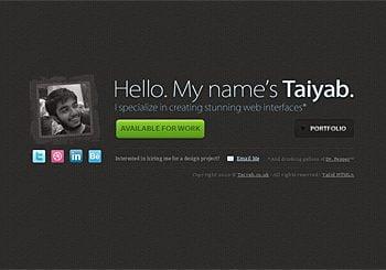 Portfolio of Taiyab Raja