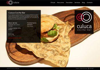 Culuca Cocina-bar. Restaurante A Coruna