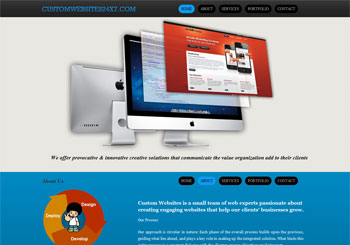 Custom websites 24X7