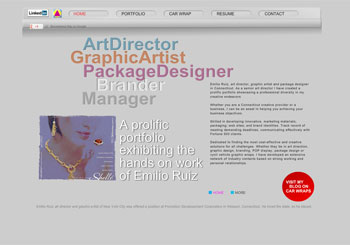 Emilio Ruiz Art Director/Graphic Designer