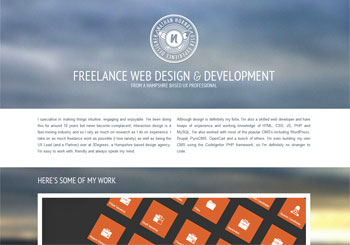 Nathan Hornby / Freelance Web Design & Development