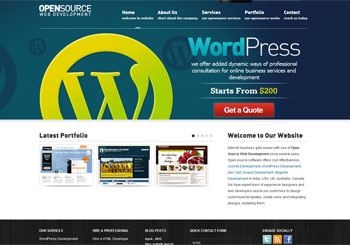 Open Source Web Development | Open Source Web Design Company India