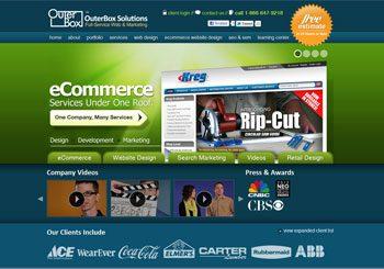 OuterBox Web Design