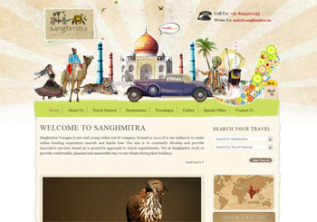 Sanghmitra – Online Travel Company India