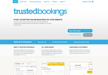 Trustedbookings Online Booking System