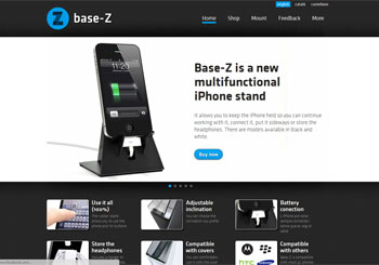 Base-Z is a new iPhone stand