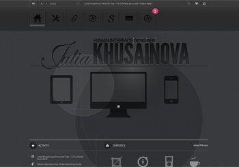 Julia Khusainova, designer
