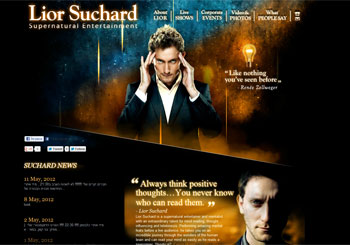 Lior Suchard Supernatural Entertainment