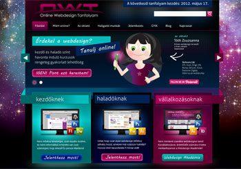 OWT  Online Webdesign Tanfolyam