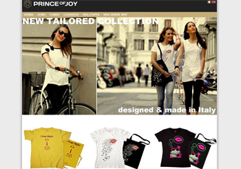 Prince of Joy – T-shirts Italian brand