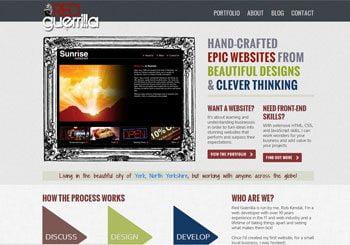 Red Guerrilla Web Design