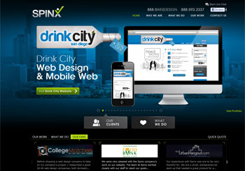 Responsive Web Design by Spinx, Web Design Florida company