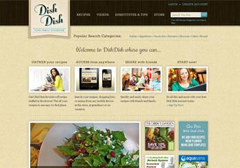 DishDish Your Family Cookbook