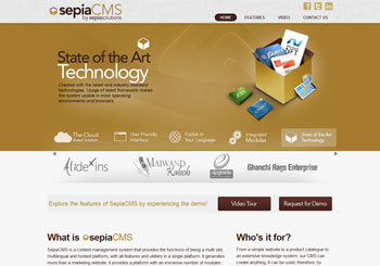 SepiaCMS – Cloud Content Management System