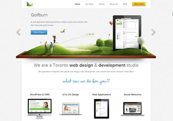 3magine Toronto web design