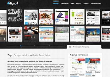 Zign Website Templates