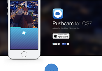Pushcam for iOS7